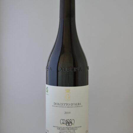 Weinflasche von Dolcetto DOC, Fratelli Grasso